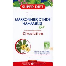 MARRONNIER D'INDE HAMAMELIS BIO 20 Ampoules 15ml