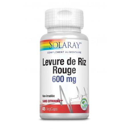 Levure de riz rouge 600 mg