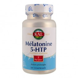 Mélatonine + 5-HTP Action prolongée