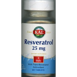 Resveratrol 25 mg