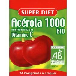 Acérola 1000 Bio 24 Comprimés