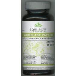BROMELASE/PAPAINE 60 gel