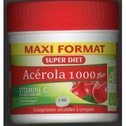 Acérola 1000 Bio 60 Comprimés